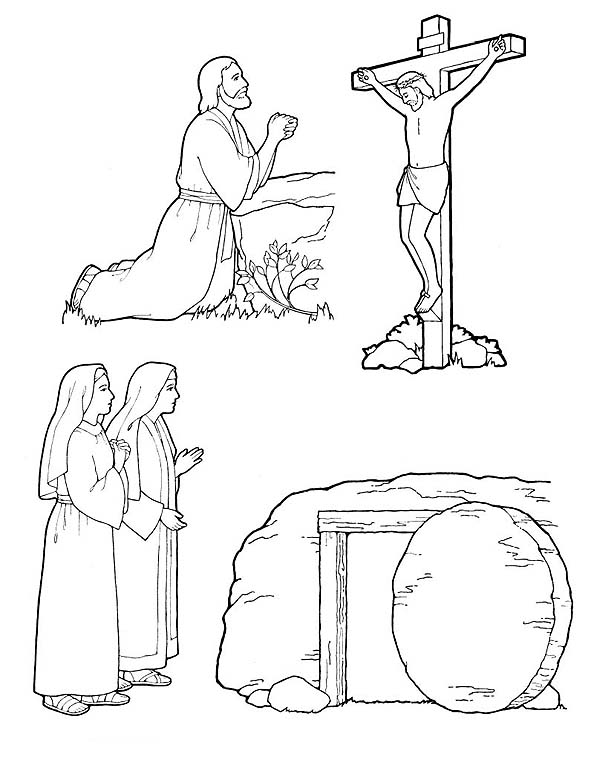 our savior and redeemer - Lds Easter Coloring Pages